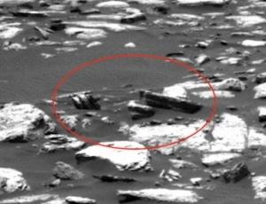 НаМарсе обнаружили странное существо (фото)